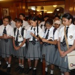 Students-busy-in-writing-information-about-Jawarlal-Nehru-in