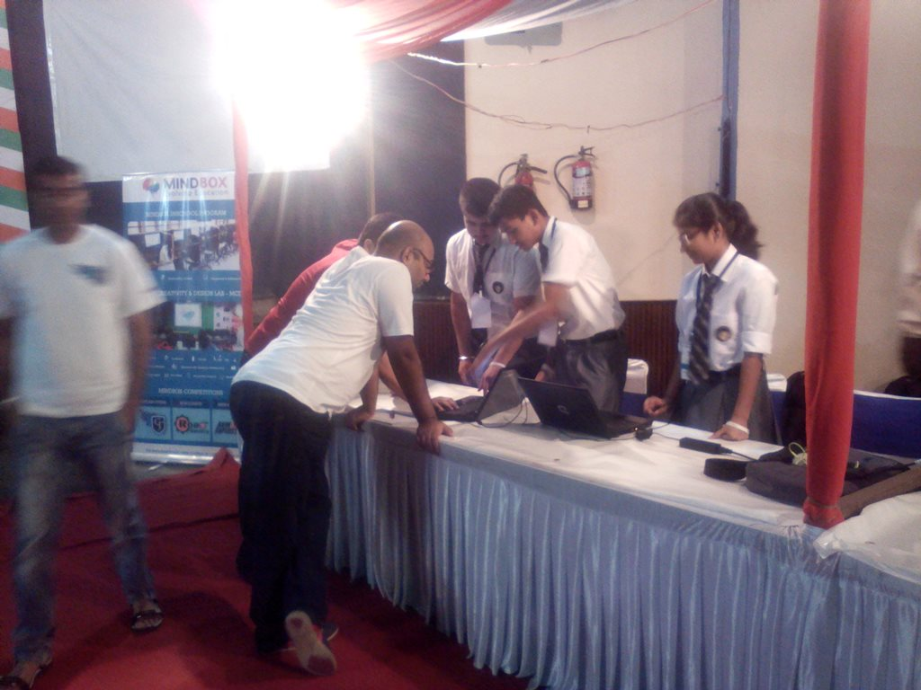Game Competition by MINDBOX and NASSCOM