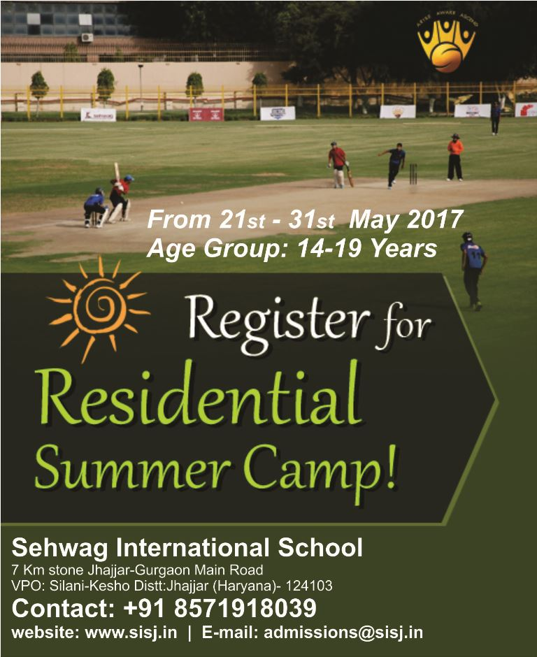 Register for Residential Summer Camp 2017