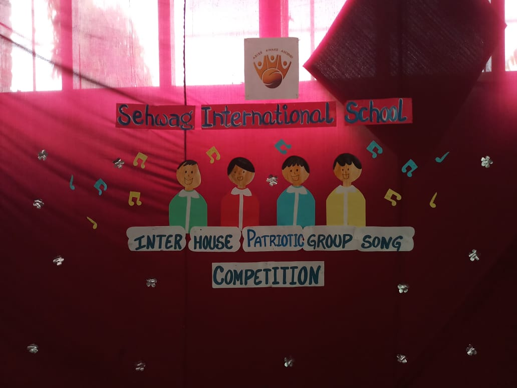 Inter House Patriotic Song Competition 2018