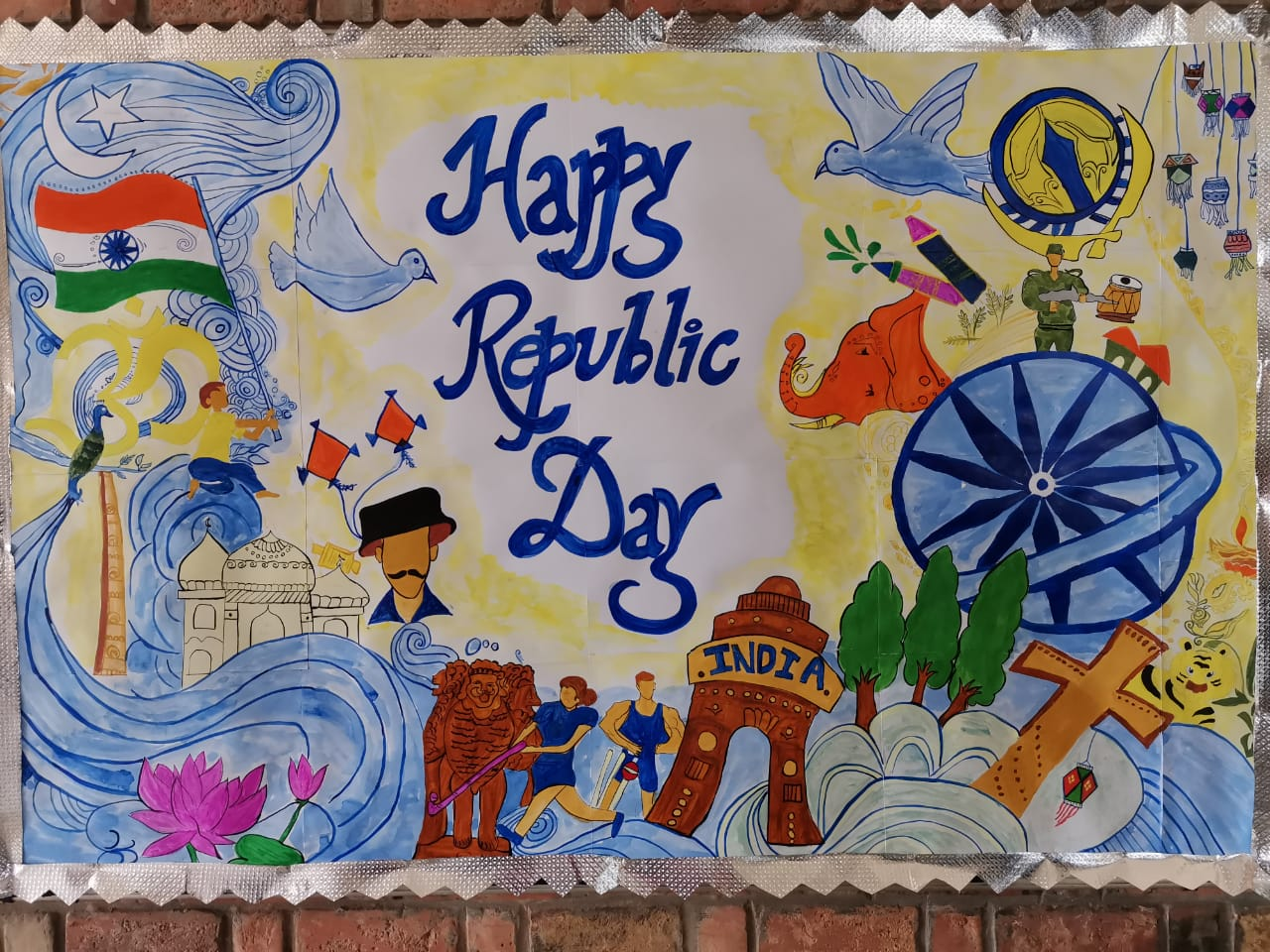 Celebration of Republic Day on 25 and 26 Jan, 2020